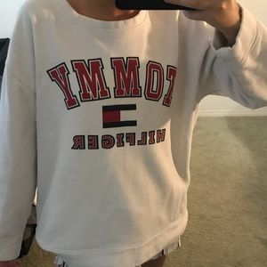 Tommy Hilfiger White sweatshirt